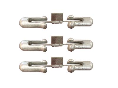 预绞式线夹对称型音叉式防振锤