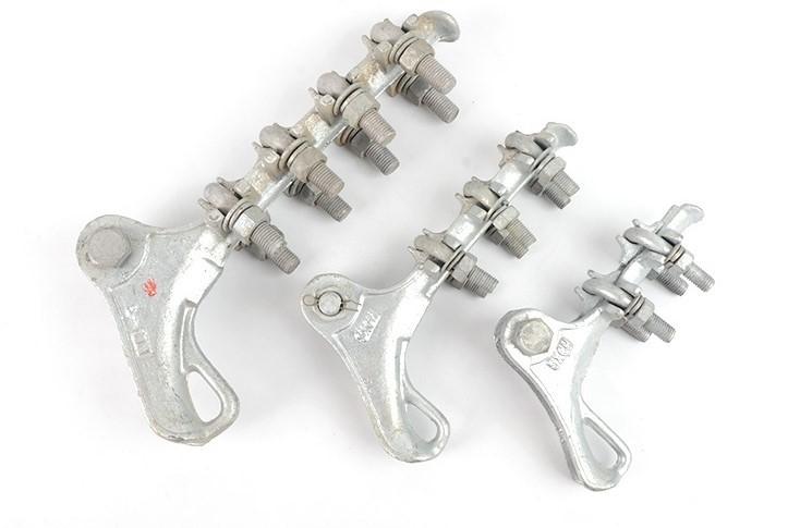 华耀检测介绍耐张线夹和接续金具的握力试验